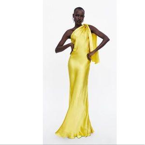NWOT ZARA LIMITED EDITION SINGLE SHOULDER DRESS